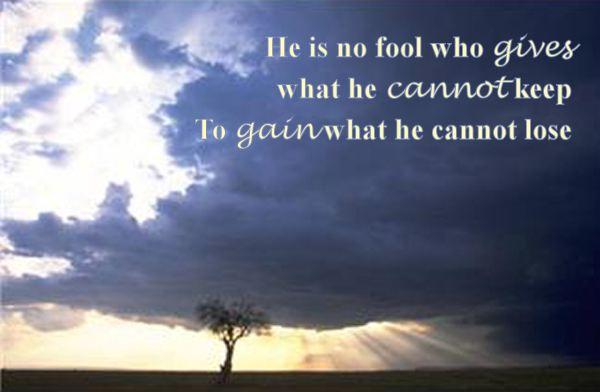 No Fool