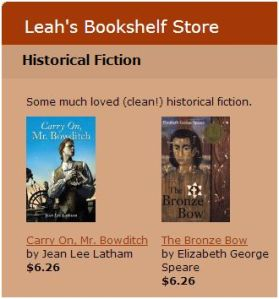 Leah's Bookshelf Store