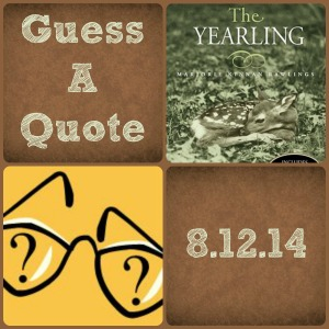 Guess a Quote [8.12.14]