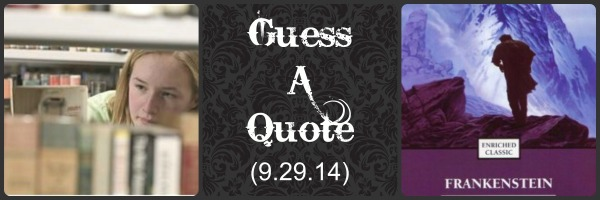 Guess A Quote (9.29.14)