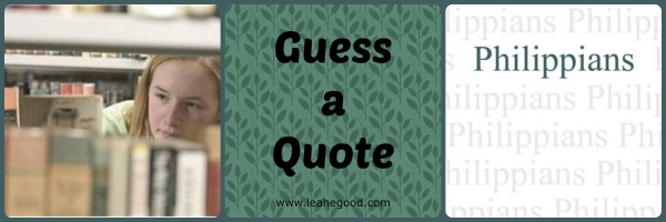 Guess a Quote [Philippians]
