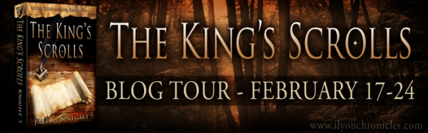 The King's Scrolls Tour Banner