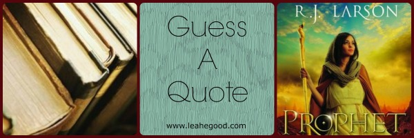 Guess a Quote [Prophet]