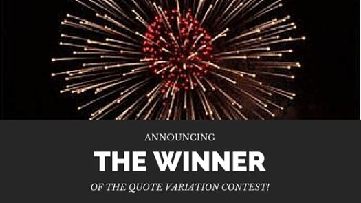 The QV Winner
