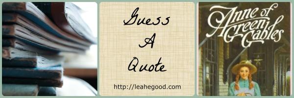 Anne of Green Gables [GAQ]
