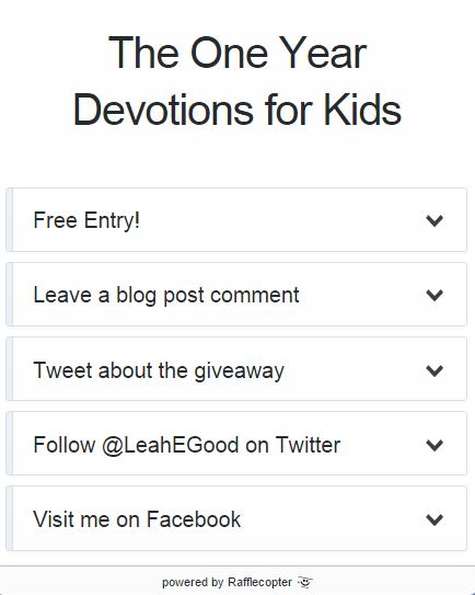 One Year Devotions [Giveaway]