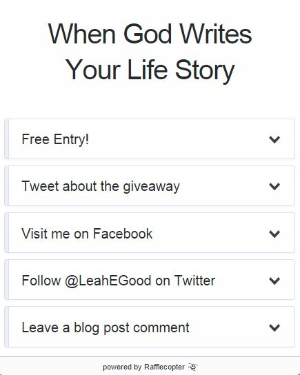 When God Writes Your Life Story [Giveaway]