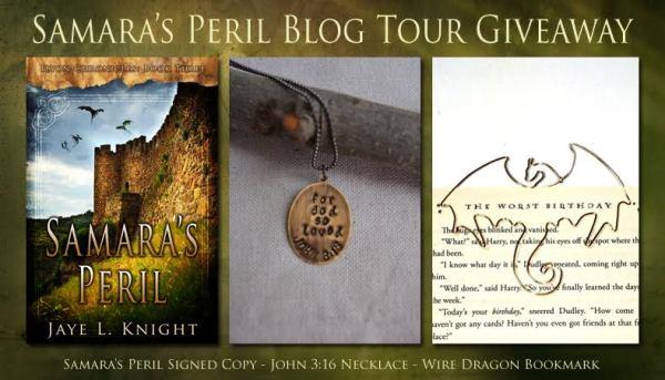 Samara's Peril Giveaway